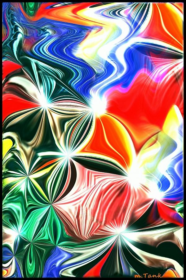 Rainbow and Light Weaving by Villa-Chinchilla
