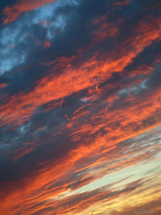 Summer Sunset by Villa-Chinchilla