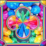 Rainbow Colored Eggs