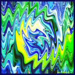 Blue and Green Color Design