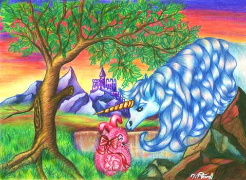 Bunny meets Unicorn