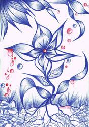 Flower of Pain by Villa-Chinchilla