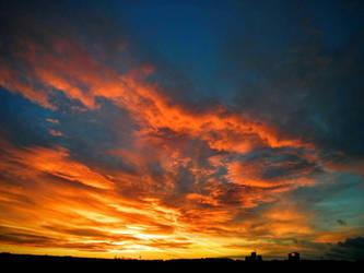 Sundown in Winter by Villa-Chinchilla