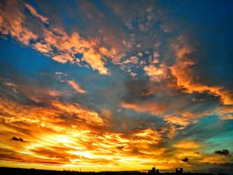 Golden Clouds by Villa-Chinchilla