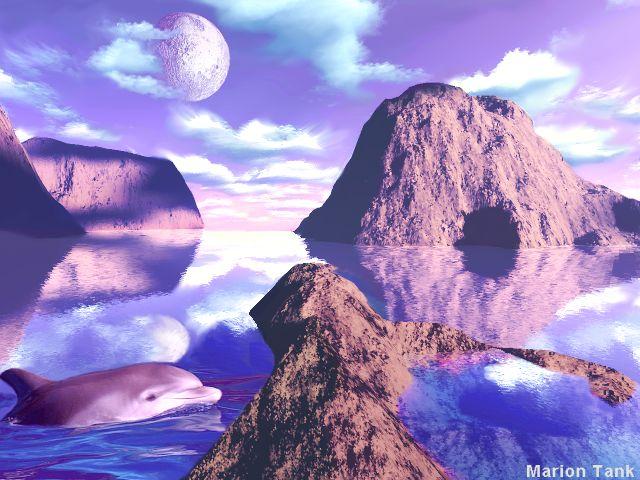 Violett Seas by Villa-Chinchilla