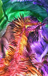 Glowing Dragon Encaustic