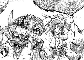 DF - Dragon Temple by RenanReynaldo