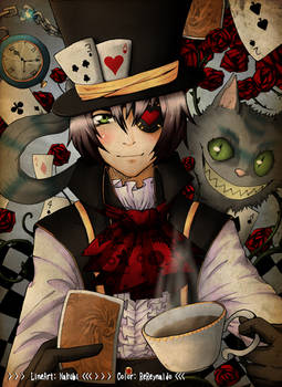 - Mad Hatter - Colored -