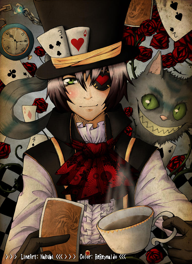 - Mad Hatter - Colored - by RenanReynaldo
