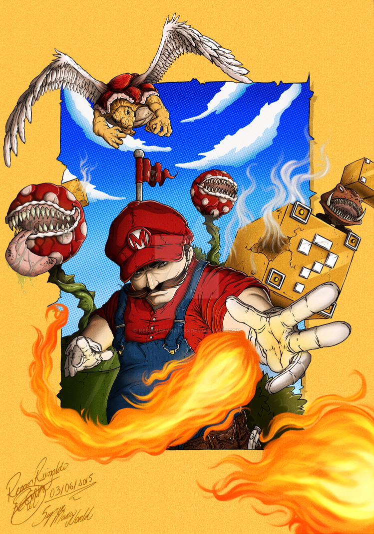 It's me Mario! by RenanReynaldo