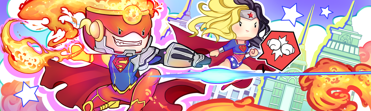 Let's go !!! Scribblenauts Unmasked contest entry by Z-E-N-E-R-O
