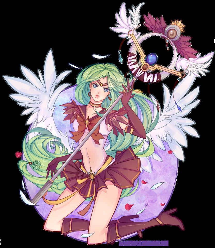 [COMMISSION] Sailor Earth by Z-E-N-E-R-O