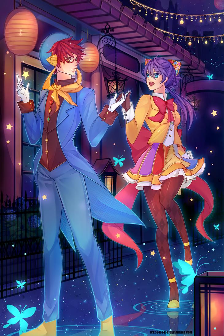 [COMMISSION] Zeki and Maya by Z-E-N-E-R-O