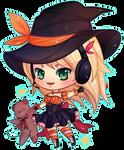 [COMMISSION] Halloween Chibi