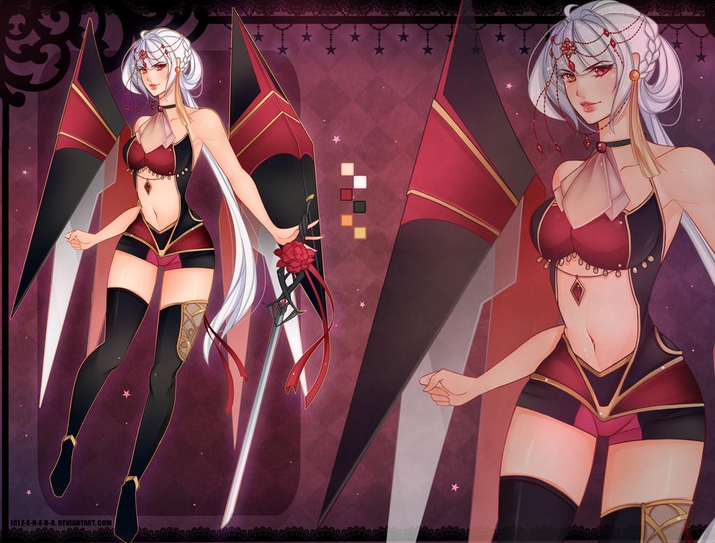 [Commission] Enforcer F ( Female ver) by Z-E-N-E-R-O