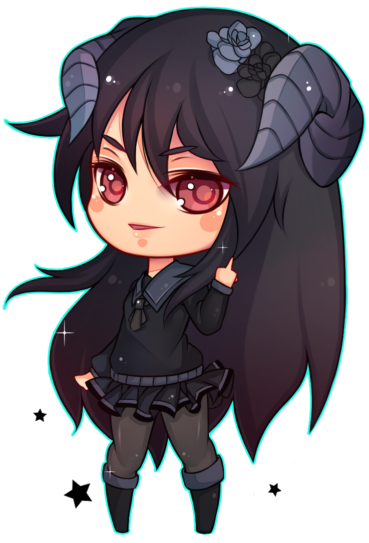 [COMMISSION] Chibi  Ask by Z-E-N-E-R-O