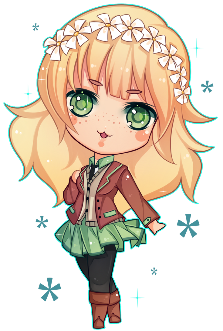 [COMMISSION] Chibi  Mitty by Z-E-N-E-R-O