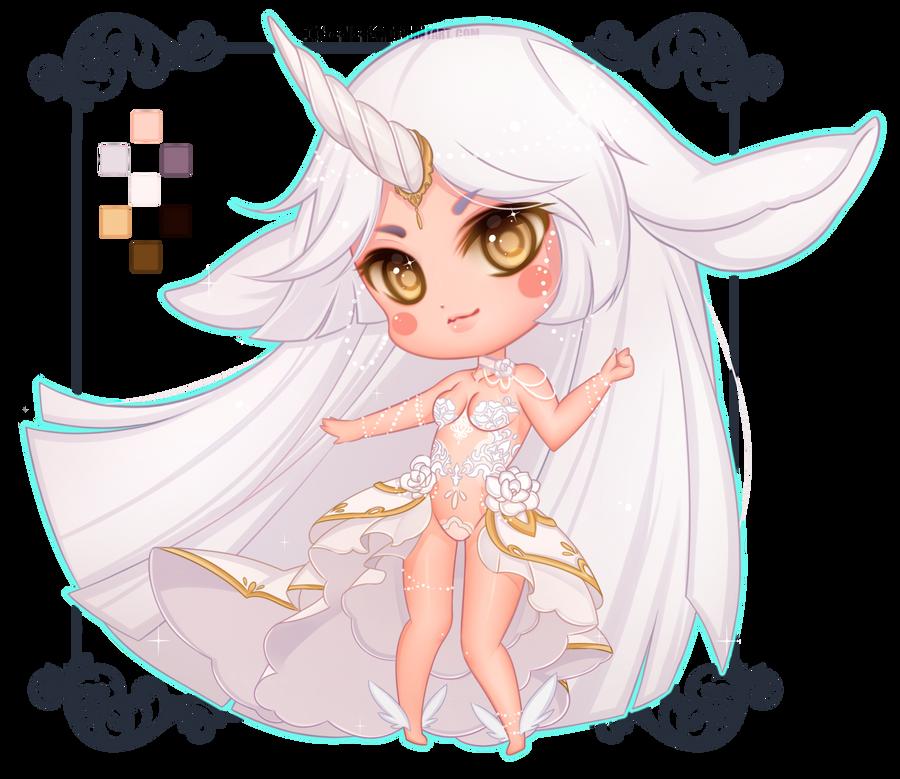 [COMMISSION] Chibi Custom Adoptable by Z-E-N-E-R-O