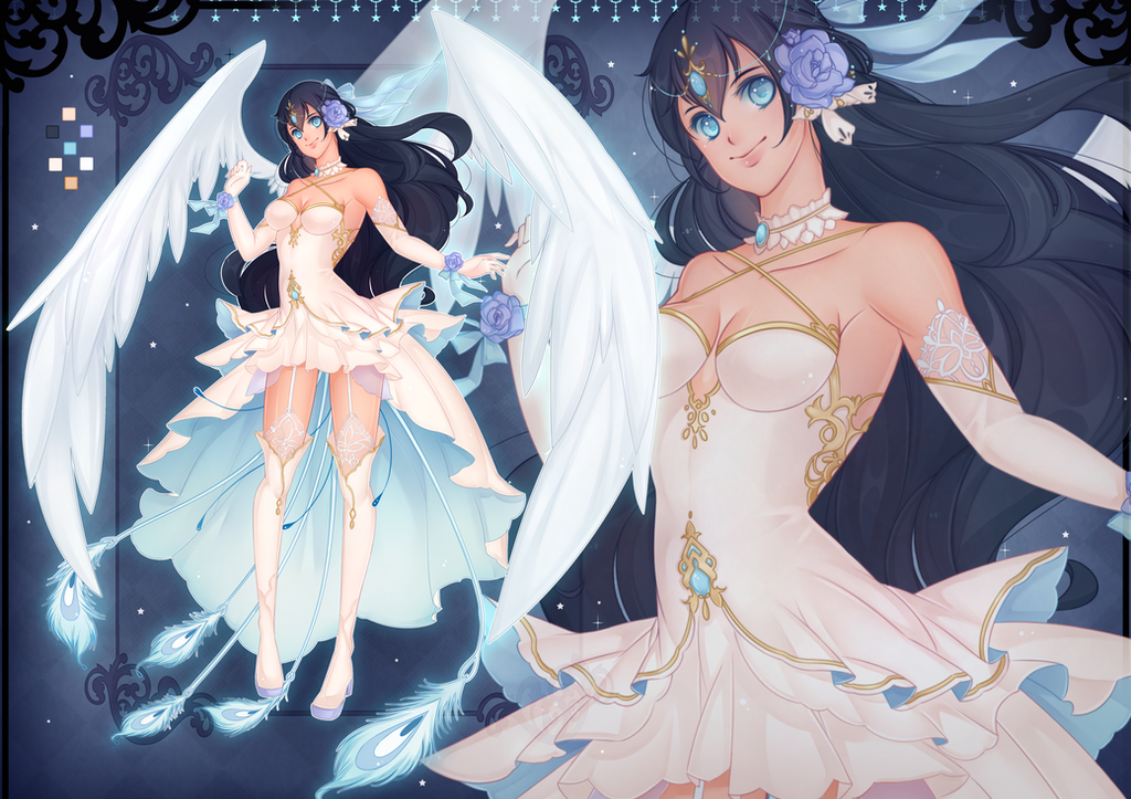 [COMMISSION] White Phoenix by Z-E-N-E-R-O