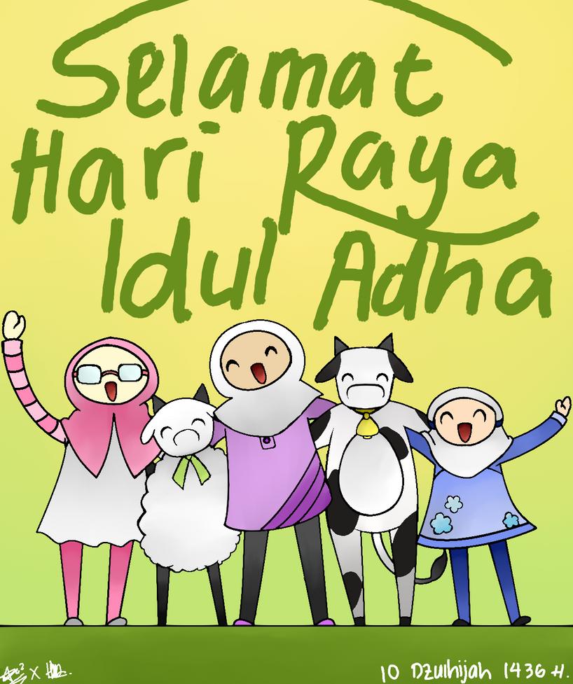 Selamat Hari Raya Idul Fitri: Selamat Hari Raya Idul Adha! By YourSoulSister On DeviantArt