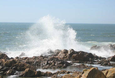 angry sea by Shaia