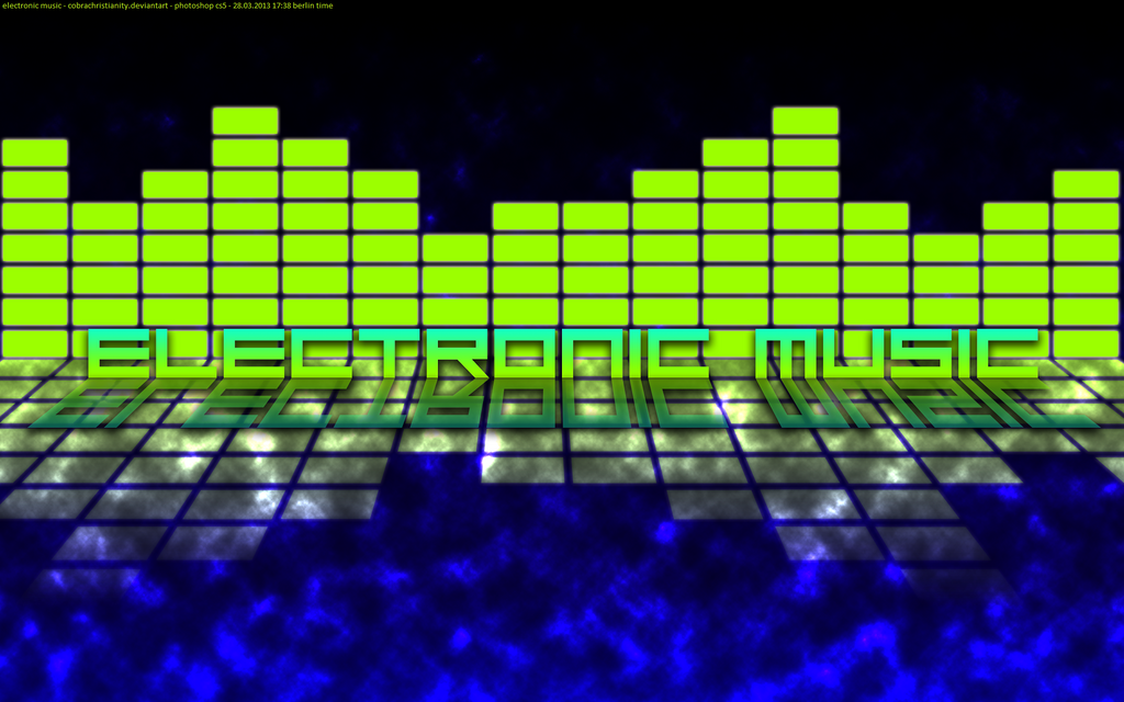 Electronic Music - Wallpaper by CobraChristianityElectronic Music