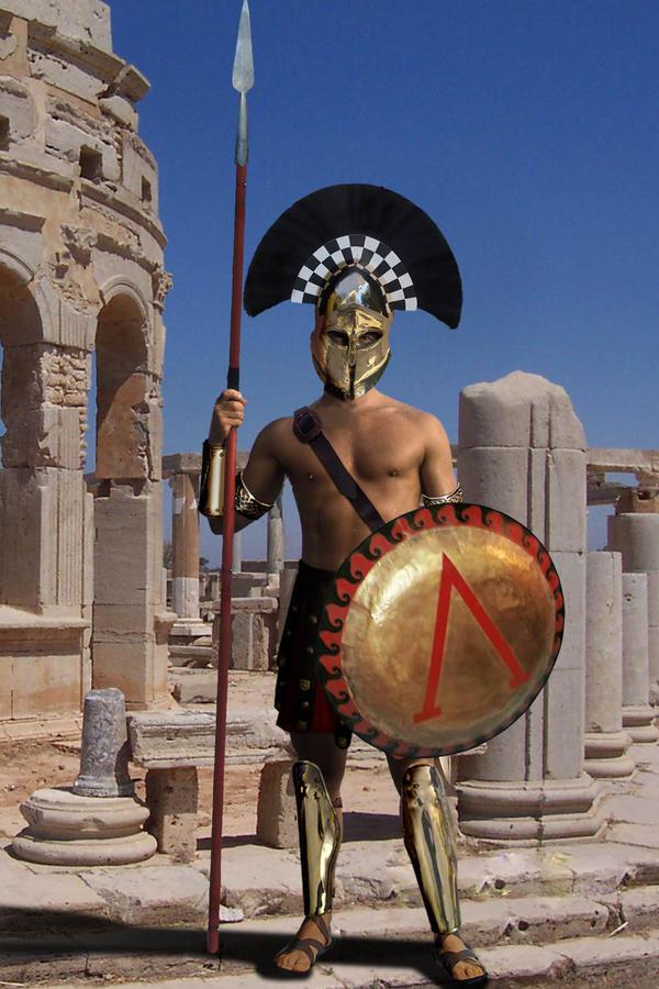 Spartan Hoplite by gringo4ninja