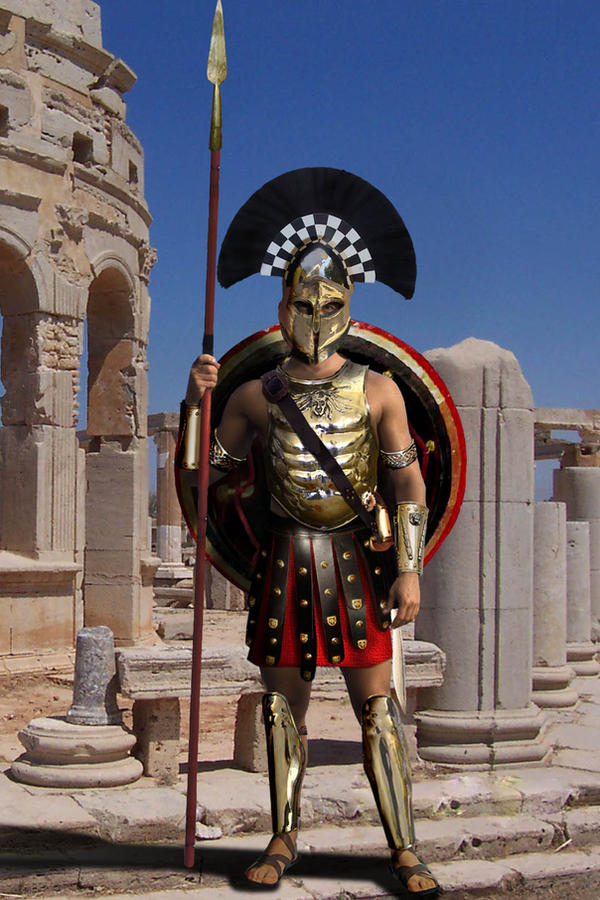 Spartan Hoplite with Armor by gringo4ninja on DeviantArt