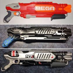 N7 shotgun build progress