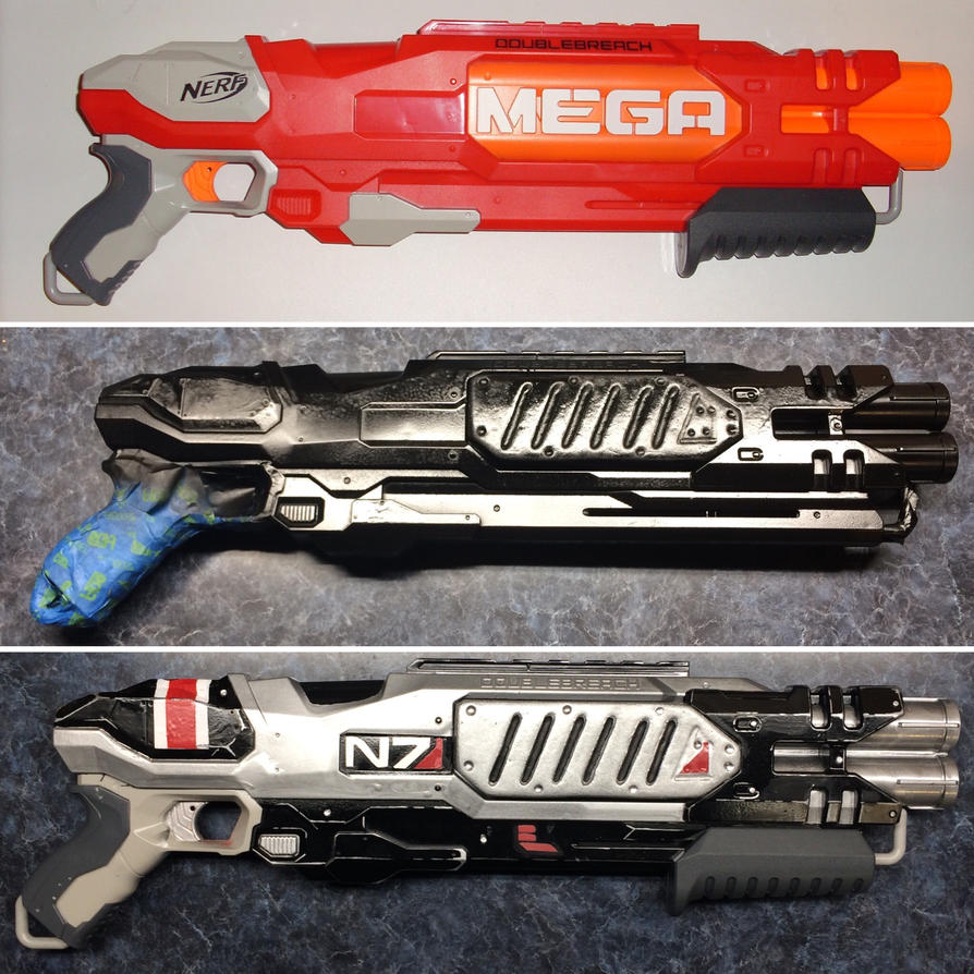 N7 shotgun build progress by gringo4ninja