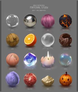 16 Materials Study by Auxuris