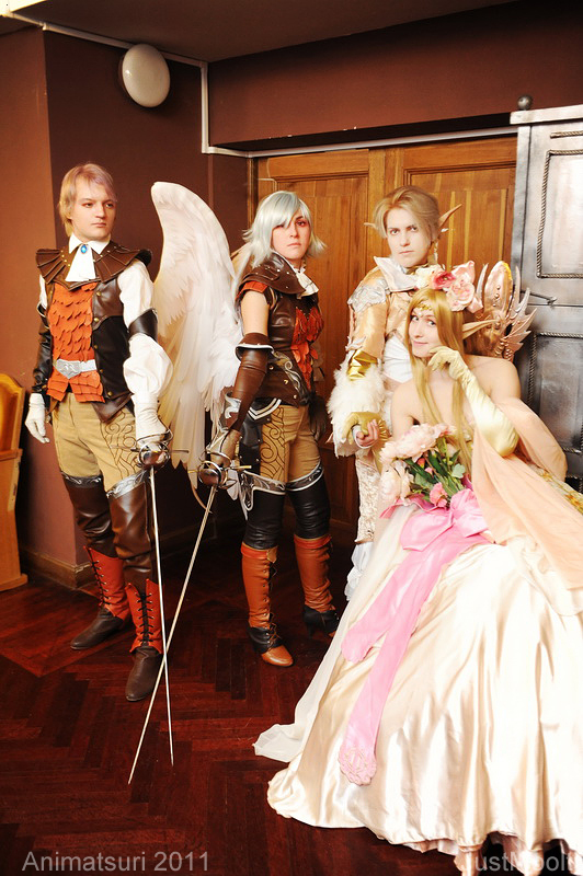 LineAgeII by Hide-Out cosplay team. Animatsuri '11 by ElenaLeetah