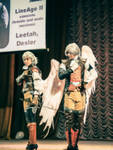 LAII kamaels: bow during festival Toguchi 2012 by ElenaLeetah
