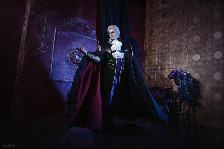 VHD Bloodlust: Vampire lord by ElenaLeetah
