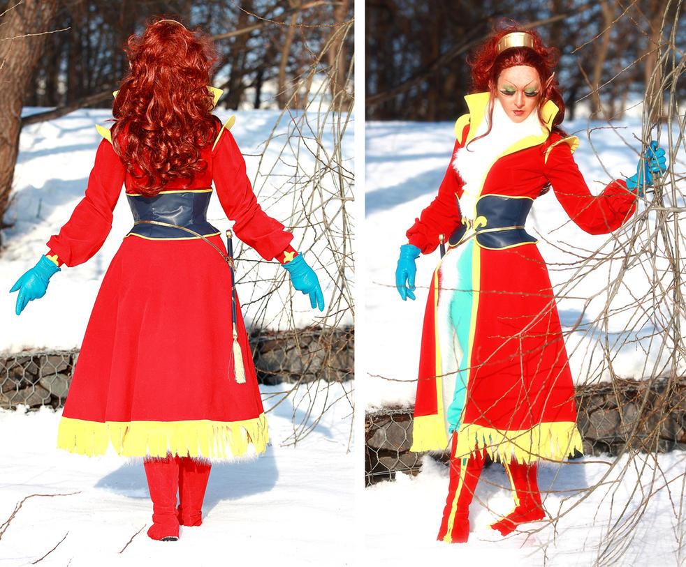 ElfQuest: Leetah' winter travel costume from COtBM by ElenaLeetah