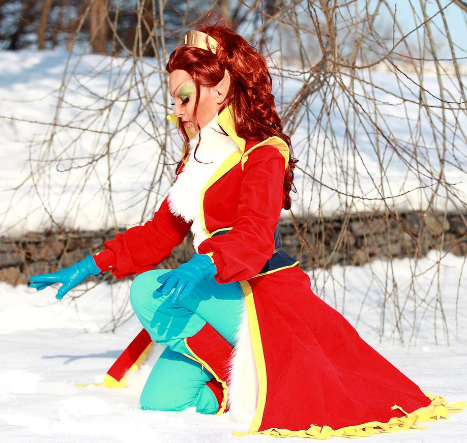 ElfQuest: Leetah - healing light. COtBM costume by ElenaLeetah