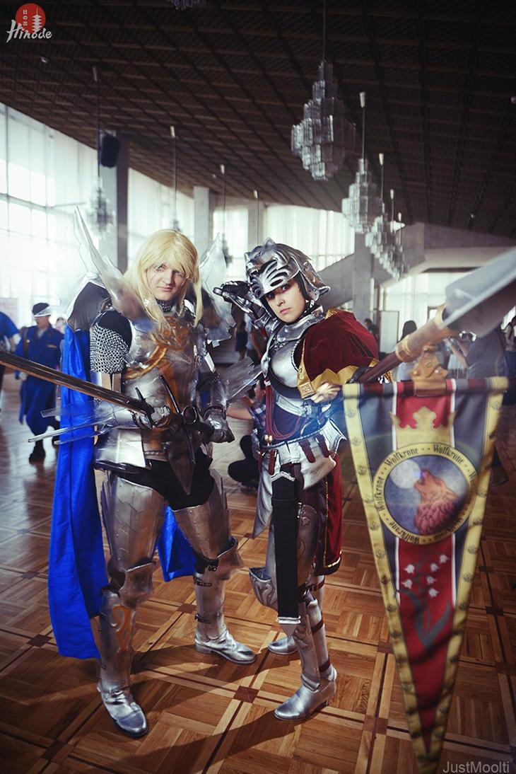 WCS-Russia'14: Soul Calibur IV Hilde and Siegfried by ElenaLeetah