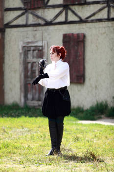 Highlander: the Raven. Amanda. Salute