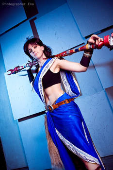 Final Fantasy XIII: Oerba Yun Fang. Wanna fight?