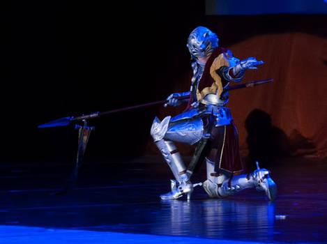 J-FEST 2014. SCIV: Hildegard von Krone kneel