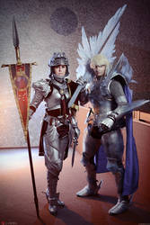 J-FEST '14: Soul Calibur IV knights official photo by ElenaLeetah