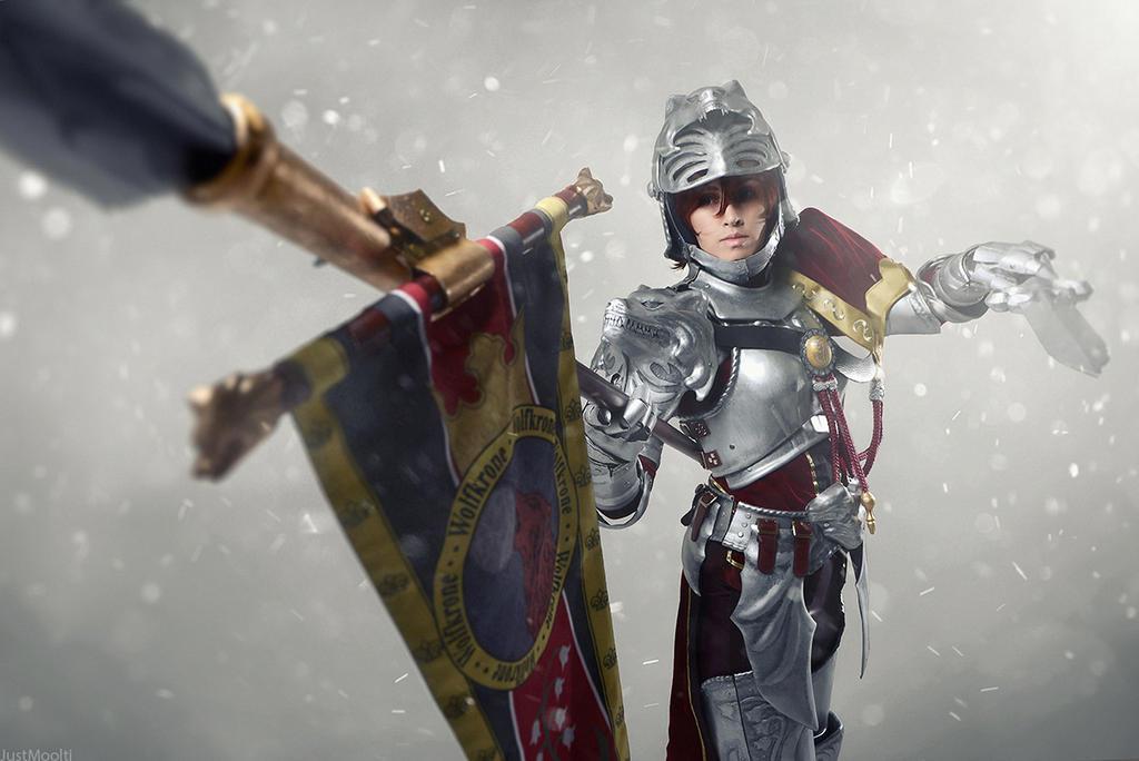 Soul Calibur IV: Hildegard von Krone. Snow shot