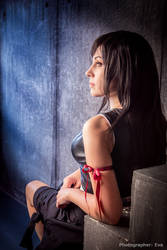 FFVII Advent Children: Tifa Lockhart portrait by ElenaLeetah
