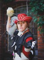 Fantasy Eart Zero: Fencer - Parides - portrait by ElenaLeetah