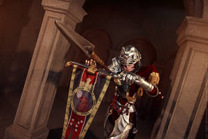 Soul Calibur IV: Hildegard von Krone - charge by ElenaLeetah