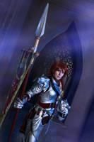 Soul Calibur IV: Hildegard von Krone. Helmet off by ElenaLeetah