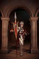 Soul Calibur IV: Hildegard von Krone. Full armor by ElenaLeetah