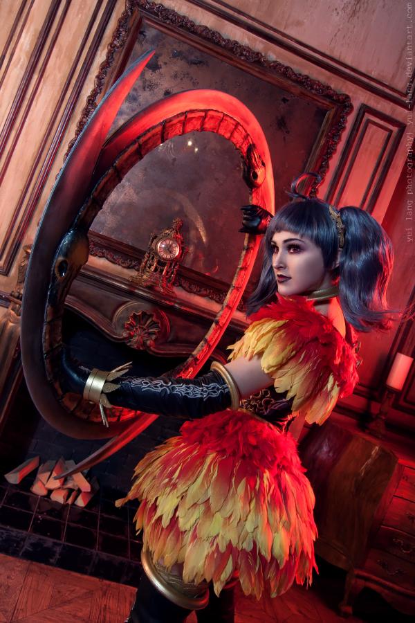 Soul Calibur V: Tira with Eiserne Drossel 2P by ElenaLeetah