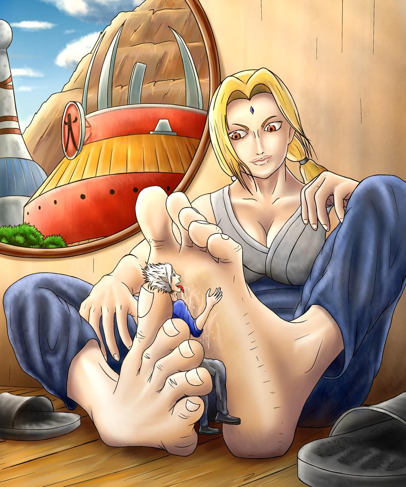 Tsunade feet porn #2