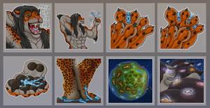 More jaguar stickers